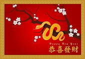 Happy New Year (Gong Xi Fa Cai) EPS10