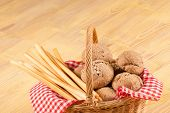 Traditional Bread Basket