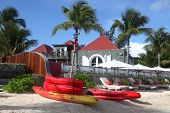 Morning at Eden Rock hotel, St Barth, French West Indies