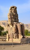 Colossi Of Memnon At Luxor