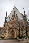 Saint Thomas Church (Thomaskirche). Leipzig, Germany