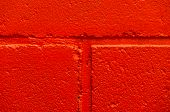 Red Brick Painted Wall