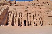 The Small Temple of Abu Simbel, Egypt