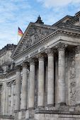 Reichstag at Berlin Germany