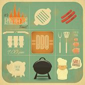 Barbecue Menu Bbq