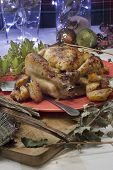 Christmas Roast Chicken