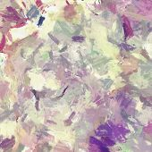 picture of impressionist  - Computer designed impressionist style vintage texture or background - JPG