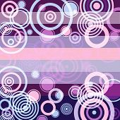Lilas Grunge Background (vector) poster