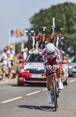 The Cyclist Eduard Vorganov