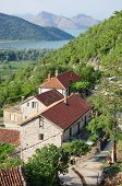 the Godinje village in Montenegro