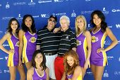 MOOREPARK, CA - SEPT 16:Scotty Medlock & Robby Krieger & Laker Girls arrive at the 6th Annual Scott