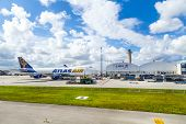 Atlas Air At Miami Airport