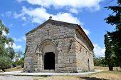 Church of St. Miguel do Castelo. Guimaraes. Portugal.