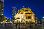 Frankfurt Alte Oper By Night