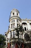 KOLKATA, INDIA - NOV 24: Esplanade mansions built during the British colonial era when Kolkata was t