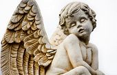 Beautiful Sculpture at a Melbourne Cemetery