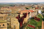 Medieval Spanish Village poster