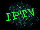 IPTV . Information Technology Concept.