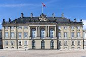 Historic Palace In Copenhagen, Denmark