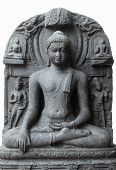 Buddha in Bhumisparsha mudra, from 10th/11th century found in Bihar, India