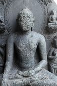Buddha, from 10th century found in Bihar, India