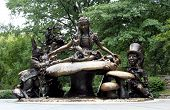 The Alice In Wonderland Sculpture, Central Park New York.