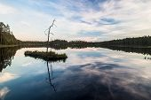 Beautiful Lake In Finland