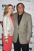 LOS ANGELES - SEP 19:  Sharon Lawrence, Dan Lauria at the Heller Awards 2013 at Beverly Hilton Hotel