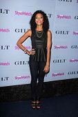 LOS ANGELES - SEP 19:  Annie Ilonzeh at the People Stylewatch Hollywood Denim Partyy at Palihouse on