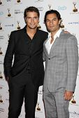 LOS ANGELES - SEP 20:  Diogo Morgado, Darwin Shaw at the Emmys Performers Nominee Reception at  Paci