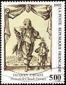 Claude Deruet Stamp
