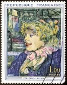 Toulouse-lautrec Stamp