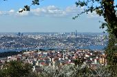 A general view of istanbul