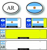 Argentina Auto Set