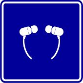 earbuds sign