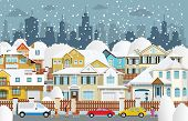 Life in the suburbs (Winter)