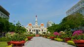 Ho Chi Minh City Hall in Saigon