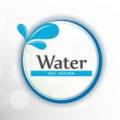 image of water shortage  - World Water Day sticker - JPG