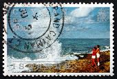 Postage Stamp Cayman Islands 1991 Blowholes, Island Scene
