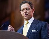 NATIONAL HARBOR, MD - MARCH 7, 2014: Conservative political activist Ralph Reed speaks at the Conservative Political Action Conference (CPAC).
