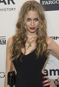 NEW YORK-FEB 5: Actress Katharina Damm attends the 2014 amfAR New York Gala at Cipriani Wall Street