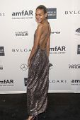 NEW YORK-FEB 5: Model Arlenis Sosa attends the 2014 amfAR New York Gala at Cipriani Wall Street on F
