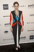 NEW YORK-FEB 5: Model Coco Rocha attends the 2014 amfAR New York Gala at Cipriani Wall Street on Feb