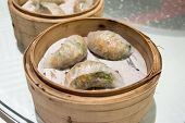 Steamed Dumpling With Pork Shrimp And Peanuts