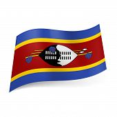 State flag of Swaziland