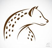 Vector Image Of A Hyena