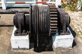 Winding Mechanism Of Irrigation Ditch Gate