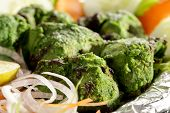 Hariyali Kabab Is A Punjabi Style Chicken Tikka Or Kabab Made With Combination Of Mint And Coriander