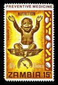 Nutrition Postage Stamp