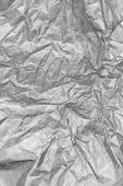 Crumpled White Paper Background Texture. Vintage Craft Paper Texture White Grey Color. Background Of